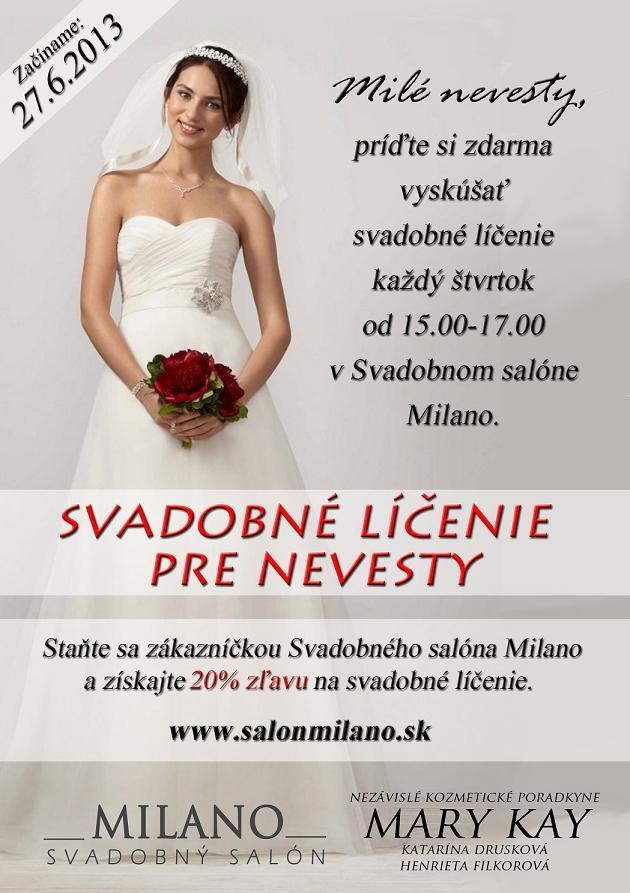 0b1138ed5cf5 Svadobný salón MILANO. svadobne licenie